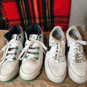 Nike Air Force one and Nike flight